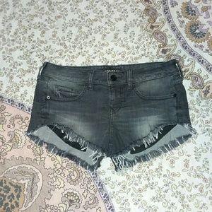 Express cutoff shorts. NWOT